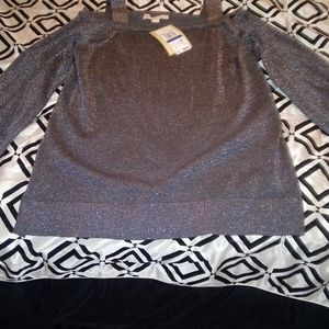 Michael Kors Silver sweater XL